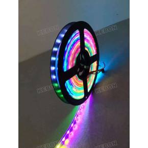 DMX Control Dream Color SMD5050 30 / 48LEDS Luz de tira flexible con IC Ws2811