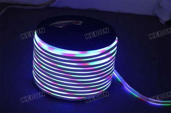 Цвет вспышки IP68 Водонепроницаемый SMD2835 120LEDs AC220V Гибкий неоновый свет