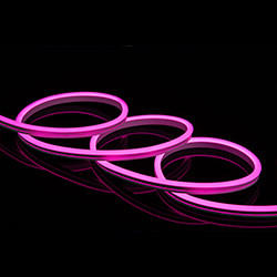 IP65 waterproof copper SMD2835 colourful outdoor 12V LED neon flexible strip light 6x12mm