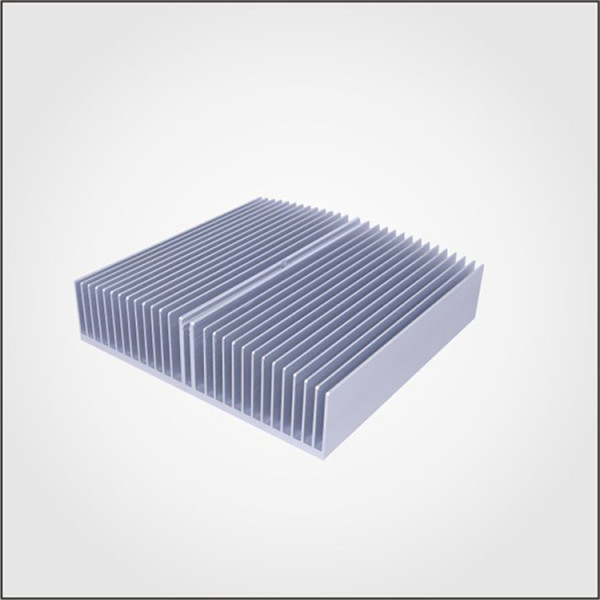 Aluminum extrusion heat sink for led