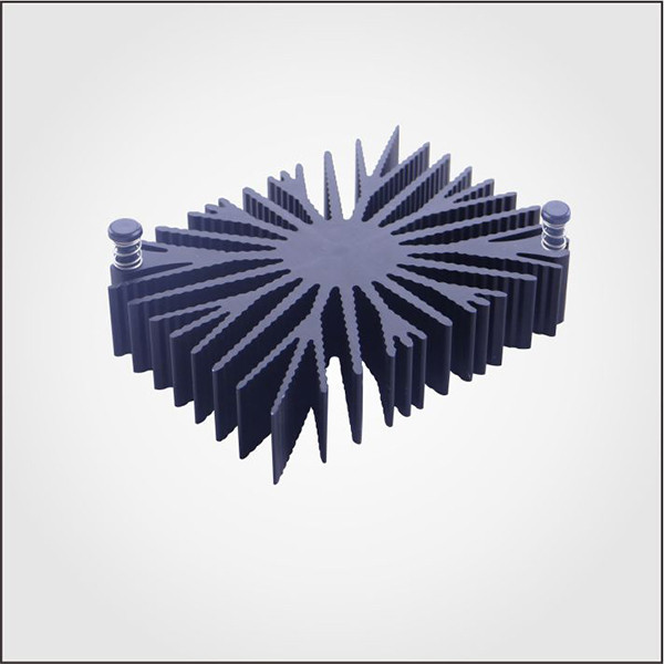 OEM Aluminum extrusion free samples heat sink for VGA