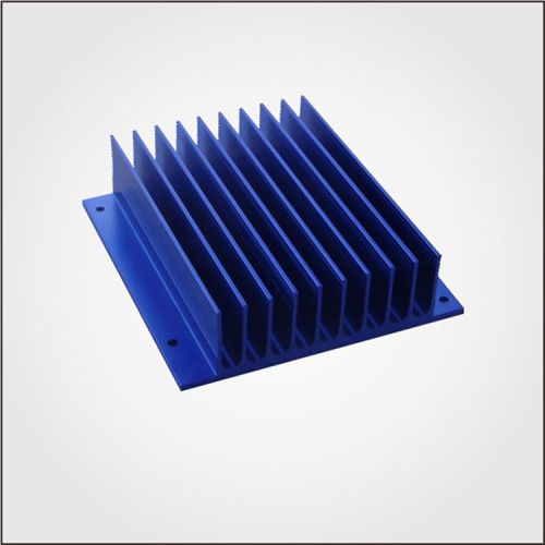 Anodized Square Shape aluminum extrusion heatsink for Industry profile heatsink