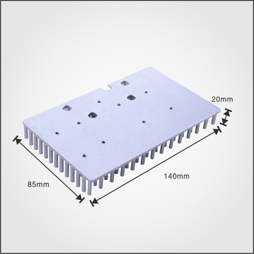 OEM/ODM 2016 Aluminum al1070 cold forging heatsink