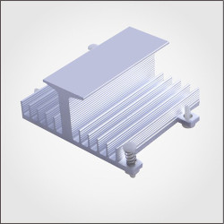 China supplier aluminum extruded ODM Heatsink
