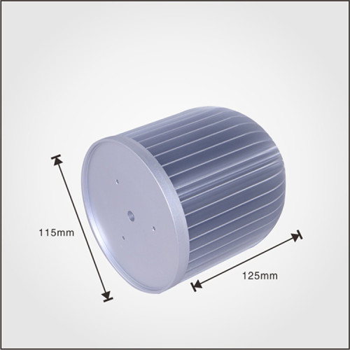 China supplier cold forging aluminum LED heat sink from Dongguan