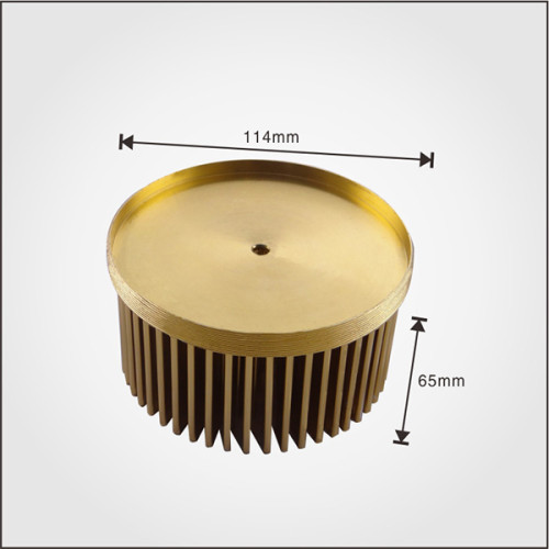 Best selling customized aluminum cold forging led light heatsink, with ISO9001 and RoHS