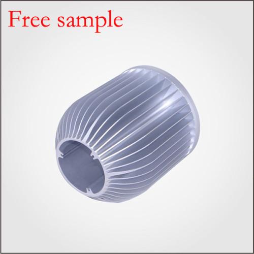115*125mm diameter heatsink with density CNC processing cold forging heatsink for led Fresh light