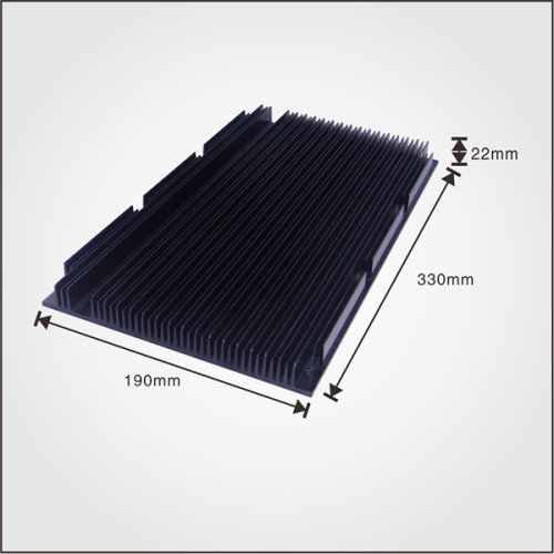 OEM Aluminum extruded china heat sink in Dongguan