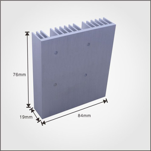 Best factory price aluminum supplier extruded profile china heatsink