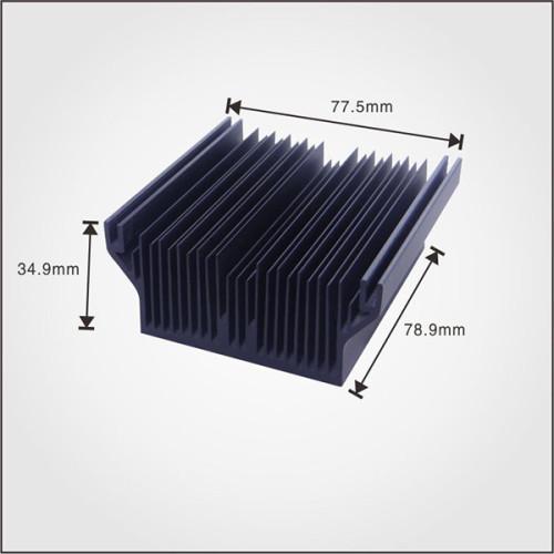 China heatsink manufacturer supply Extruded Aluminum profile heat sink