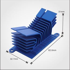 OEM service AL6063 material use for Extrusion aluminum china heatsink