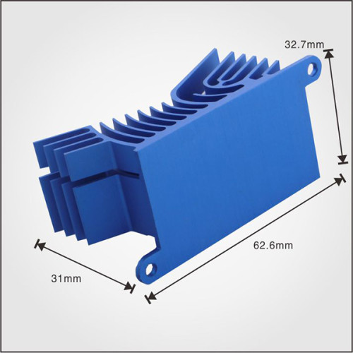OEM service AL6063 material use for Extrusion aluminum china heatsink
