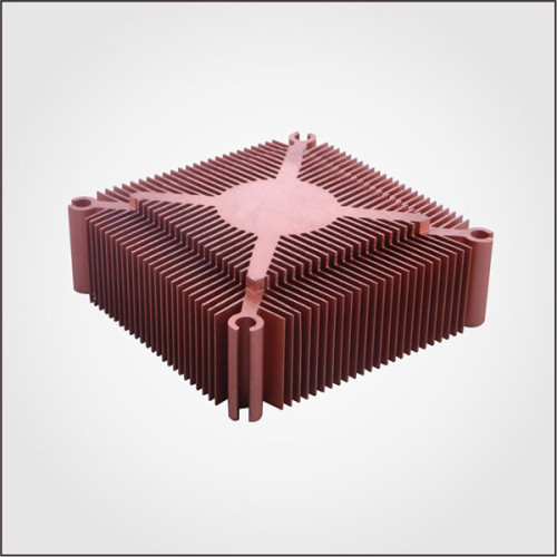 Custom Aluminum Profile material Extruded Aluminum sun flower Heatsinks with high quality