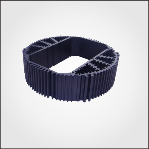 Custom Aluminum Profile material Extruded Aluminum round Heatsinks with high quality