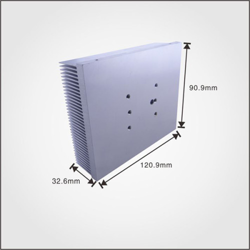 OEM service factory price manufacturer hot selling aluminum profile extruded heatsink