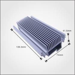 Aluminum exteusion box Customized aluminum heatsink