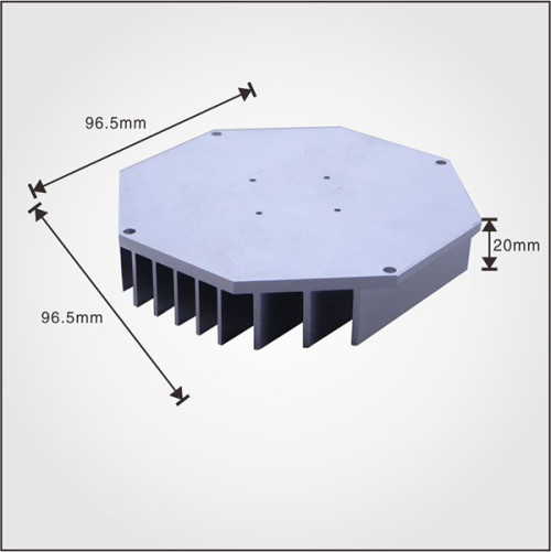 Factory manufacturing best price wholesale aluminum product extruded profile heatsink