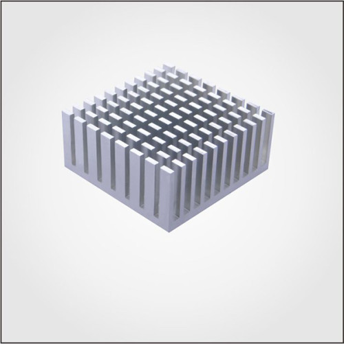 Custom Aluminum material Extruded T-Profile Aluminum Heatsinks with high quality