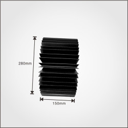 All kinds of free aluminum extruded moldsT-profile heat sink