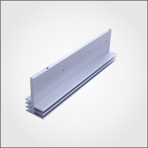 Dongguan Ruiquan OEM aluminum extrusion anodizing natural heat sink with ISO 2008-9001