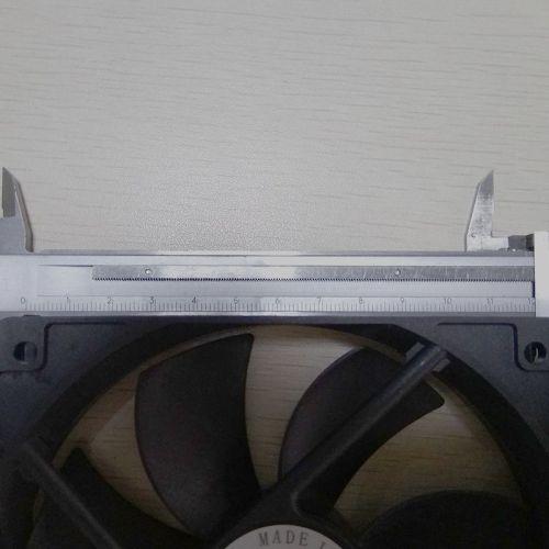 120 x 120 x 25 mm Fan brushless Cooling Fan