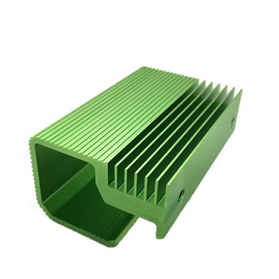 Dongguan custom anodized al extruded profile heat sink for power supply inverter