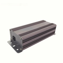 Aluminum Extrusion waterproof amplifier enclosure for electronics heatsink case