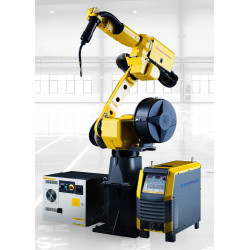 FANUC 6 axis industrial welding robot with serve motor