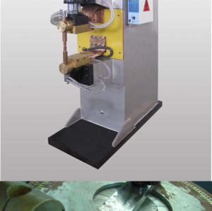 DN-100KVA pneumatic spot and projection welding machine for steel wire mesh