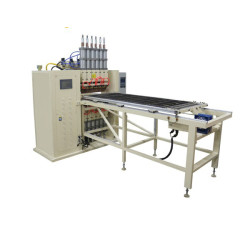 CE standard multiple spots wire mesh welding machine for refrigerator steel wire condenser