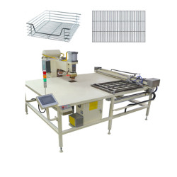 CE standard kitchen Wire Shelves- wire basket table type welding machine