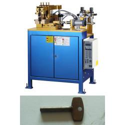 Pneumatic AC resistance butt welder, butt welding machine  for metal lock key hardware