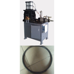 China best price pneumatic steel rod circle-ring flash butt welding machine