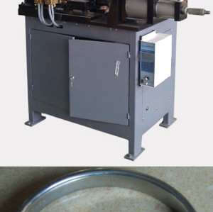 Good quality steel strip steel ring resistance flash butt welding machine from china