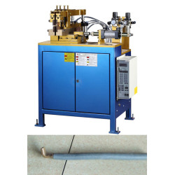 AC pneumatic resistance butt welding machine for copper and steel material welding