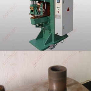 MD-80 water heater water tank steel tank inlet outlet nozzle intermediate frequency inverter welding machine