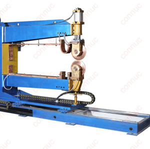 China made customized automatic movable longitudina Rolling Seam Welding Machine
