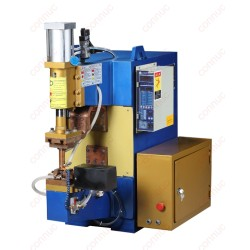 Automatic  pneumatic resistance spot welder for engineer valve tip