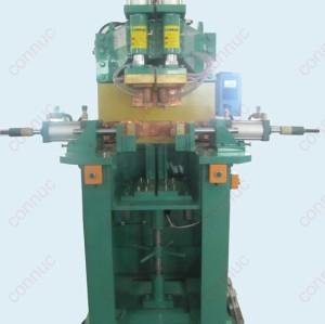 Horizontal double-end resistance welding machine for automobile balance bar, 150KVA, 3 phase