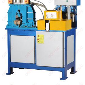 Air hydraulic flash butt welding machine for knife handle welding