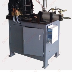 Three phase flash bump welding machine for welding motorcycle wheel rims