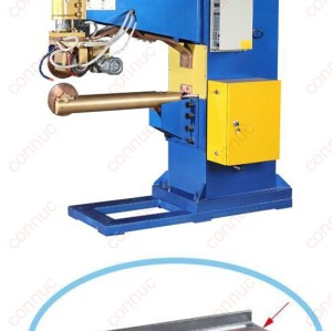 Air hydraulic pressure automaic seam welding machine for sink