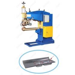 Air hydraulic pressure automaic seam welding machine for sink