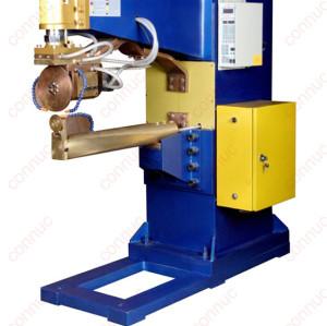 Horizontal seam welding machine for top & bottom covers of water tank.