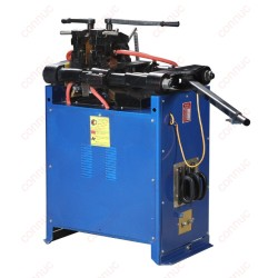 Hand-held flash butt welding machine for steel bars