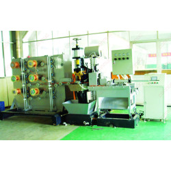Medium frequency resistance welding machine for copper braided wire welding & cutting