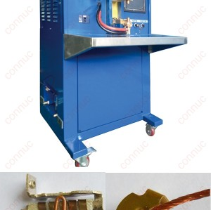Medium frequency electric compacting  welding machine for copper wire & copper plate, 50KVA