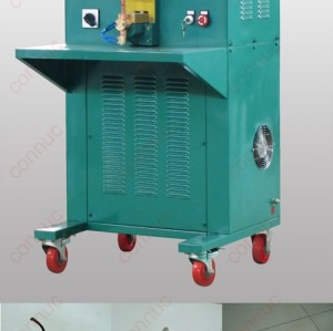 Medium frequency DC welding machine for electrical copper relay - shunt