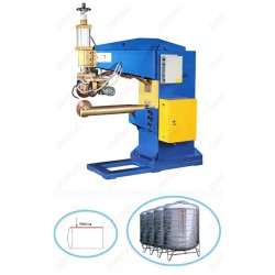 Stainless steel water tower body transversal seam welder  export from china