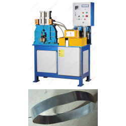 High performance butt flash welding machine for steel strip belt & ring